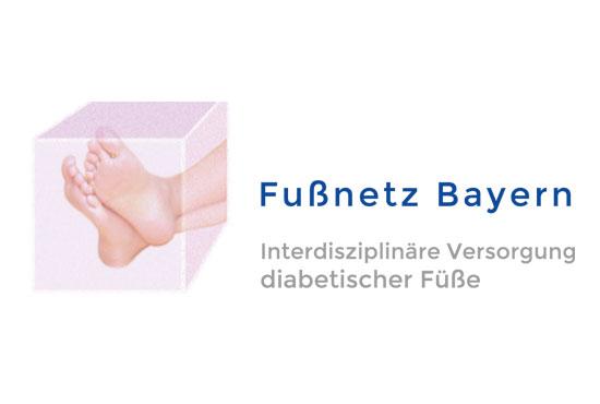 Logo-Fussnetz
